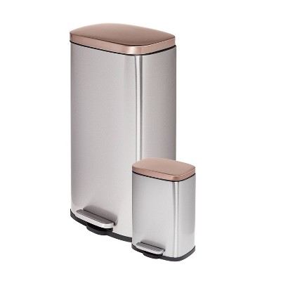 Honey-Can-Do 5L/30L Step Trash Can Combo