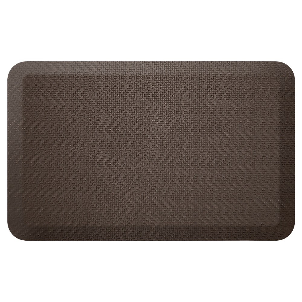 Newlife By Gelpro Designer Comfort Kitchen Mat - Sisal Coffee Bean - 20X32
