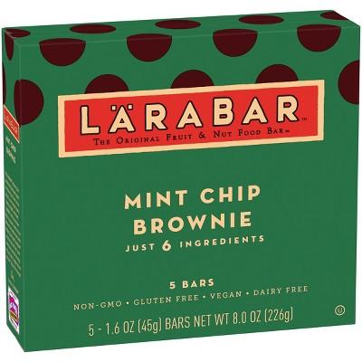 Larabar Mint Chip Brownie Energy Bars - 5ct