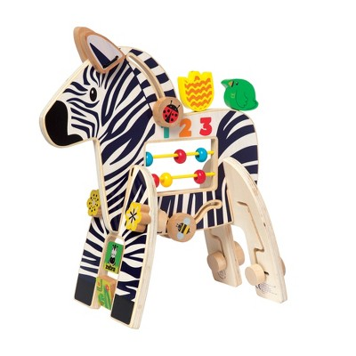 Manhattan Toy Zebra Activity Toy
