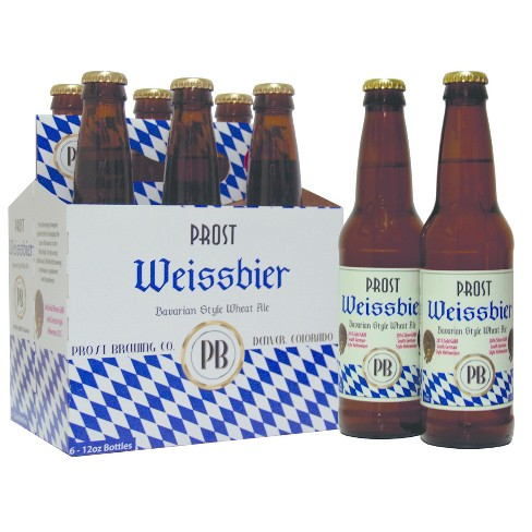 Prost® Weissbier Bavarian Style Wheat Ale - 6pk / 12oz Bottles - image 1 of 1
