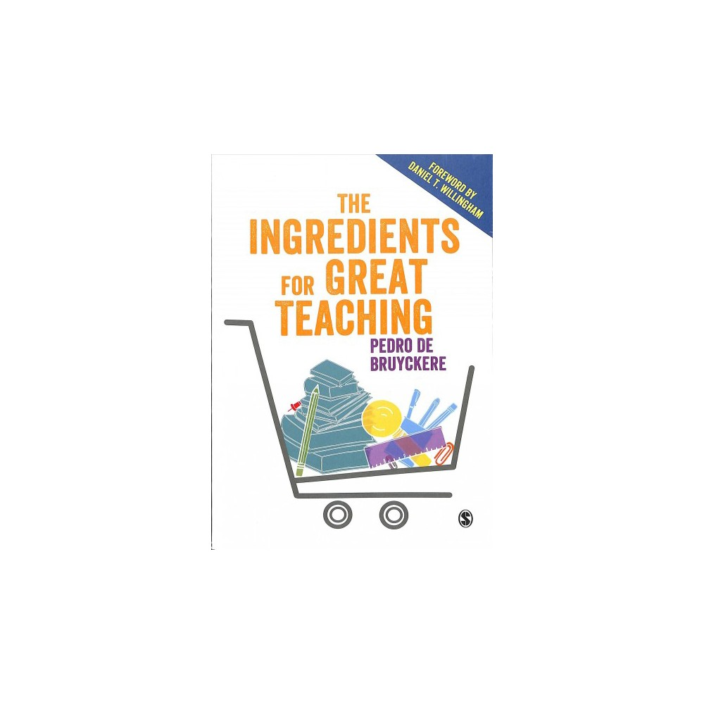 Ingredients for Great Teaching - by Pedro De Bruyckere (Paperback)
