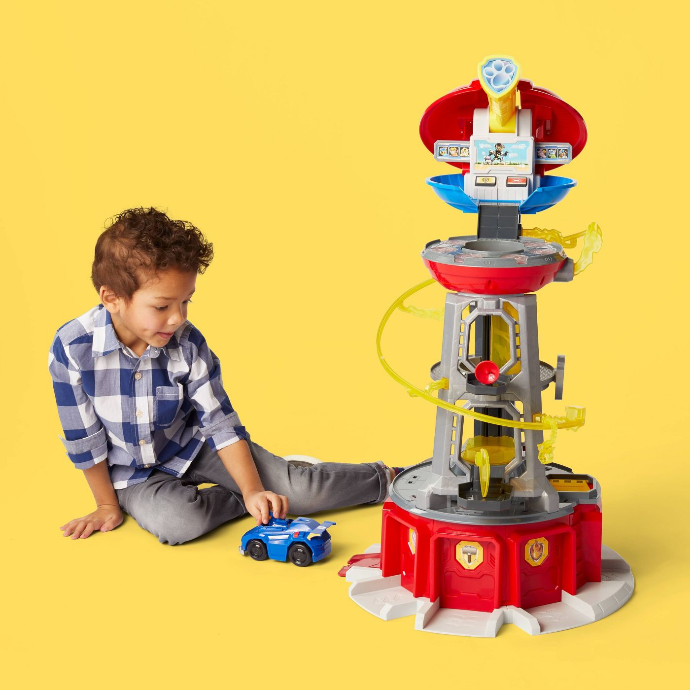 PAW Patrol Super Mighty Pups  Lookout Tower with Chase Figure - image 2 of 10