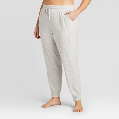 Women's Plus Size Perfectly Cozy Lounge Jogger Pants - Stars Above™ Light Gray 3X