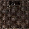 3pc Granville Foldable Small Corn Husk Baskets Chocolate - Winsome - image 3 of 3