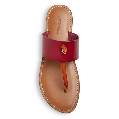 d3769d2a318e Women s Malia Thong Sandals - Merona™ Red 11   Target