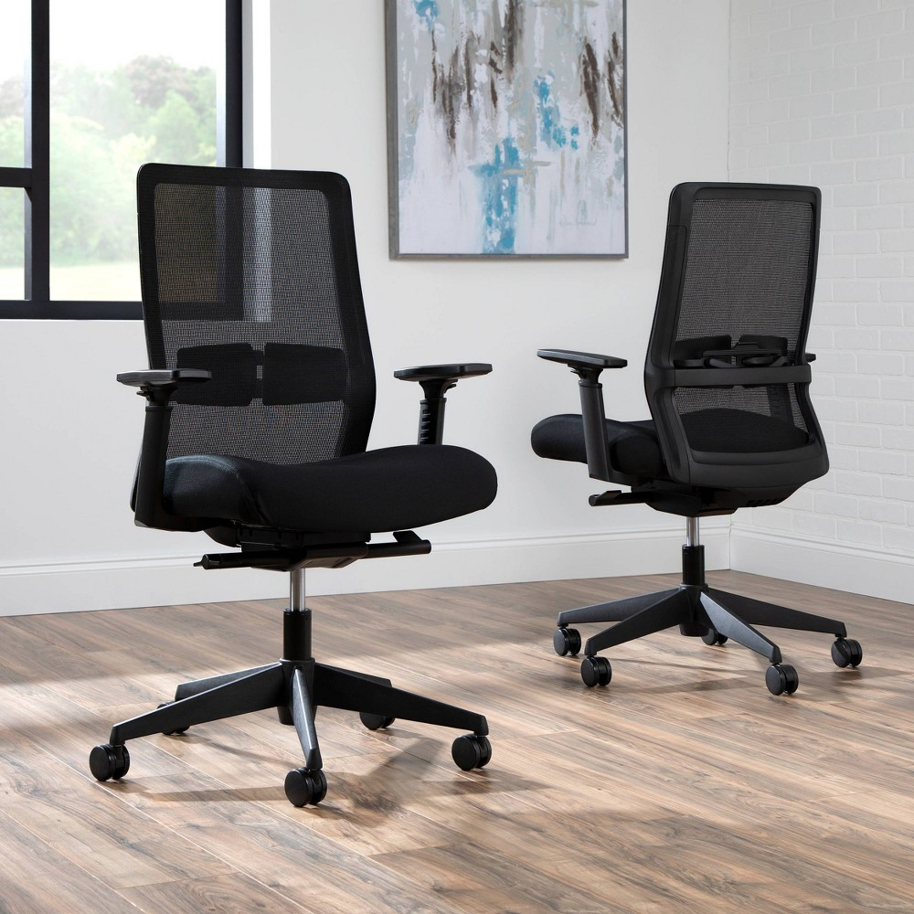 Top Basyx Biometryx Commercial Grade Mesh Task Chair  - HON