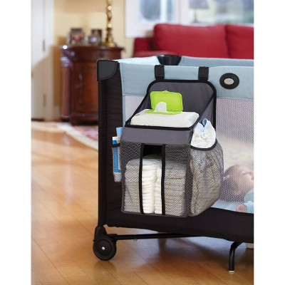 Dexbaby Playard Nursery Organizer and Diapers Caddy Organizer