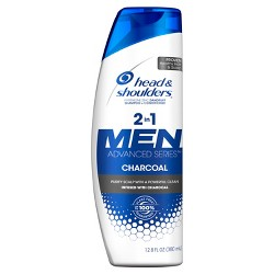Head & Shoulders 2-in-1 Men Advanced Series Charcoal Shampoo + Conditioner - 12.8 fl oz