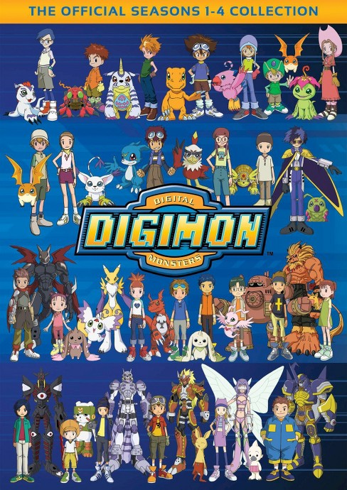 Digimon collection:Seasons 1-4 (DVD) - image 1 of 1