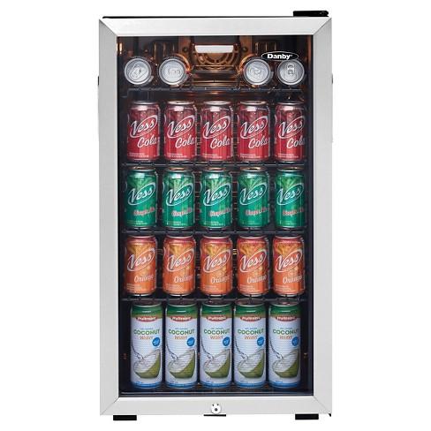 Danby 33 Cu Ft Mini Refrigerator Dbc120bls Target
