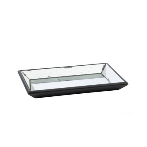"""Vintage Finish Mirrored Glass Tray - 13x19.5"""" - image 1 of 4"""