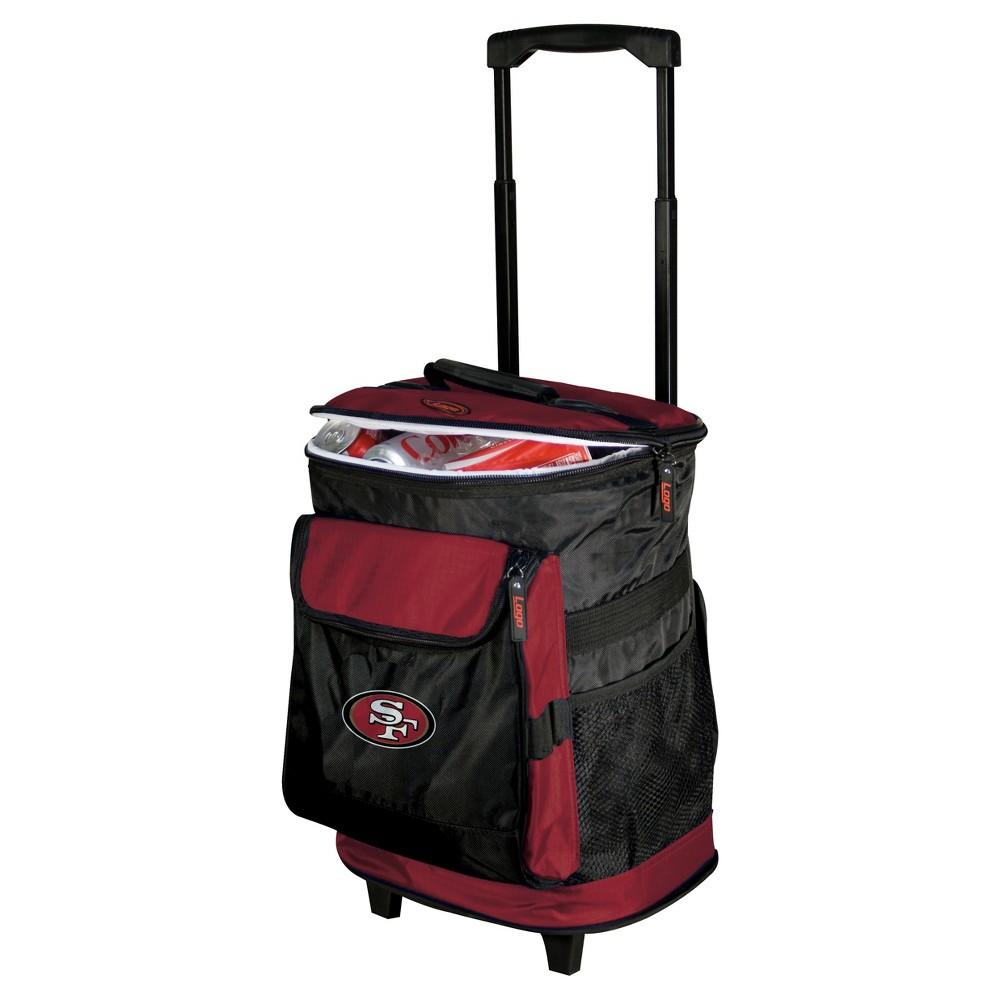NFL San Francisco 49ers 48-Can Rolling Cooler