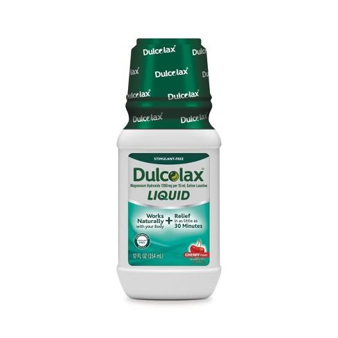 Dulcolax Cherry Liquid Digestive Treatment - 12oz - image 1 of 3