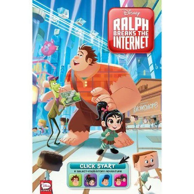 Disney Ralph Breaks the Internet: Click Start-- Select-Your-Story Adventure (Graphic Novel) - by  Joe Caramagna & Amy Mebberson (Paperback)