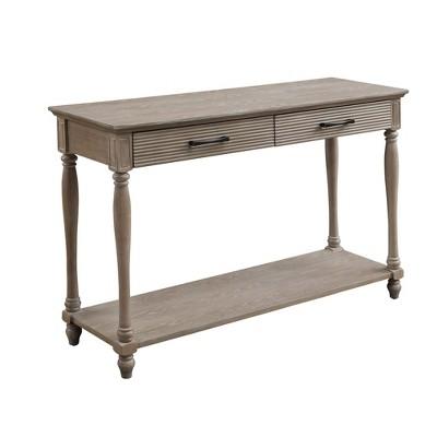 Ariolo Sofa Table Antique White - Acme Furniture