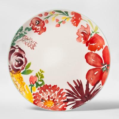 10.5  Corinna Stoneware Floral Dinner Plate - Threshold™
