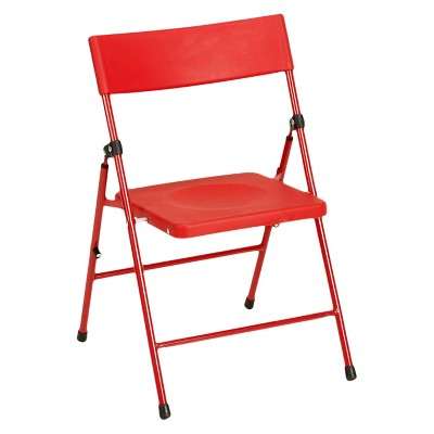 Safety 1st® 7 Pc Childrenu0027s Juvenile Set With Pinch Free Folding Chairs And  Screw In Leg Table   Red   Cosco : Target