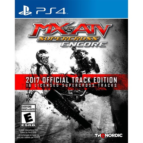 MX vs ATV Supercross Encore 2017 Official Track Edition PlayStation 4 - image 1 of 11