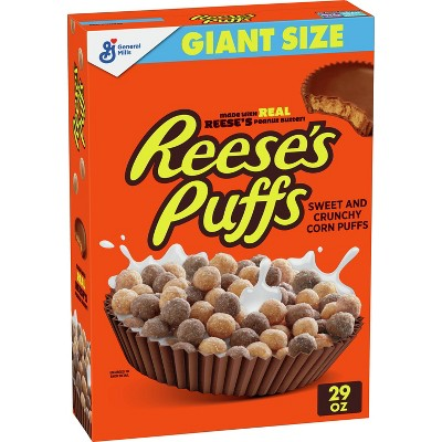 Reese's Peanut Butter Puffs Giant Size Cereal - 29oz