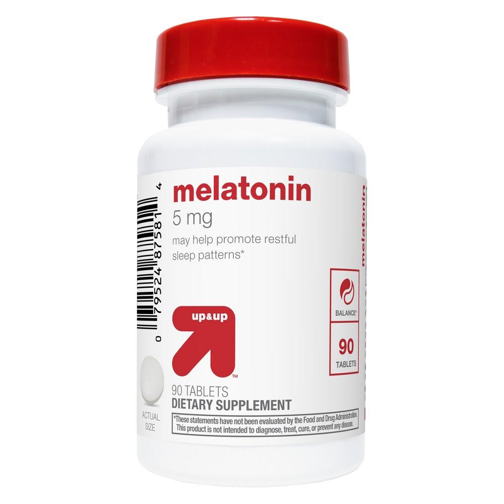 Melatonin Tablets - 90ct - Up&Up