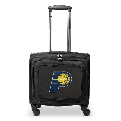 NBA Indiana Pacers Mojo Carry On Laptop Spinner Wheels Suitcase
