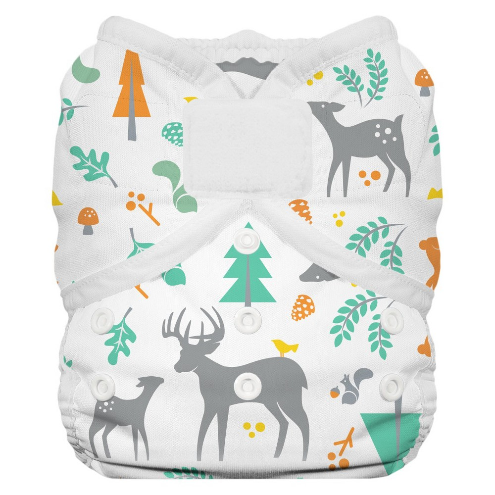 THIRSTIES BABY Duo Wrap Hook & Loop, Woodland - Size Two,...