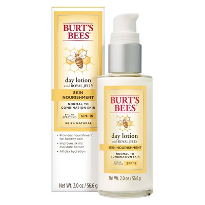 Facial Moisturizer: Burt's Bees Day Lotion