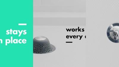 Shower And Bath Tub Drain Protector Gray Oxo Target