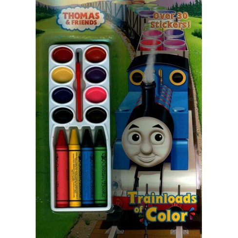 TRAINLOADS OF COLOR 01/07/2014 Coloring Book - image 1 of 1