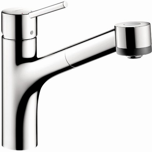 Hansgrohe America Inc 06462 Talis S Pull Out Kitchen Faucet