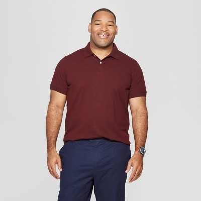 83bdf901a256 Men s Big   Tall Short Sleeve Loring Polo T - Shirt - Goodfellow ...
