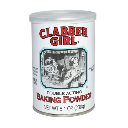 Clabber Girl Double Acting Baking Powder - 8.1oz - image 1 of 4