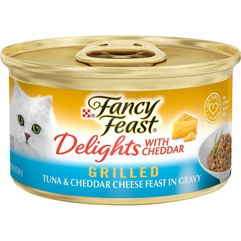 Purina Fancy Feast Grilled Gravy Delights Feast Wet Cat Food Can  - 3oz - image 1 of 4