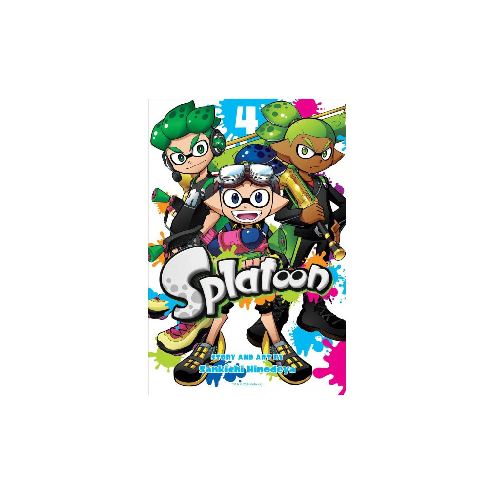 Splatoon 4 - (Splatoon) by Sankichi Hinodeya (Paperback)