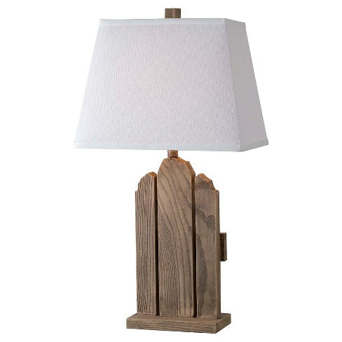 Kenroy Home Table Lamp - Wood - image 1 of 1