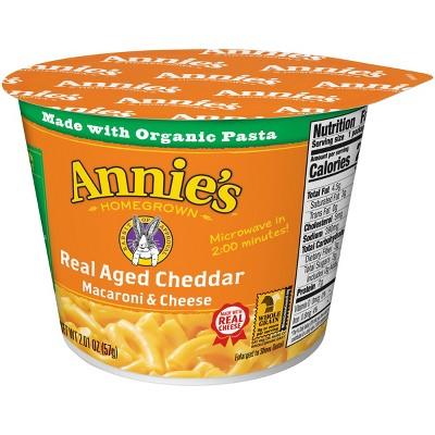 Annie's Real Aged Cheddar Macaroni & Cheese 2oz