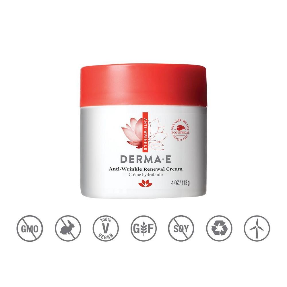 Image of DERMA E Anti Wrinkle Cream - 4oz