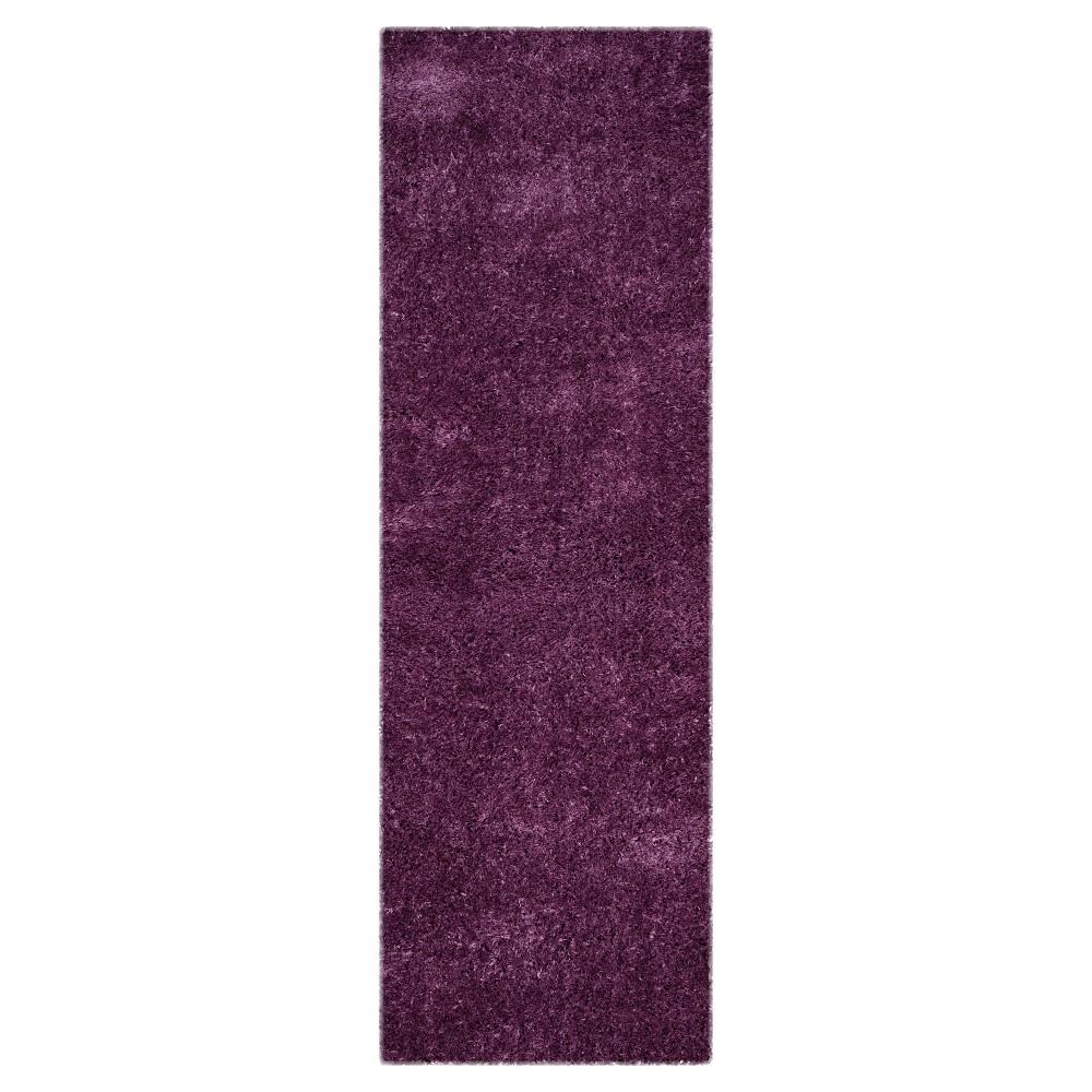 Indie Shag Rug - Purple - (2'3X7') - Safavieh