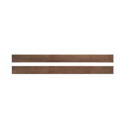 Child Craft Full Size Bed Rails - Toasted Chestnut