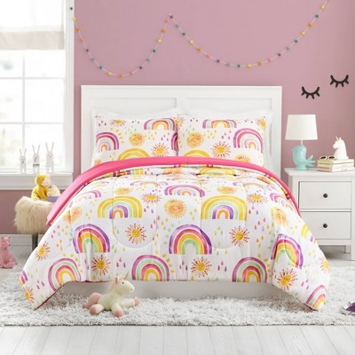 Rainbows and Suns Comforter Set - Urban Playground