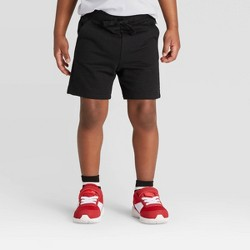 Toddler Boys' Knit Pull-On Shorts - Cat & Jack™ Black