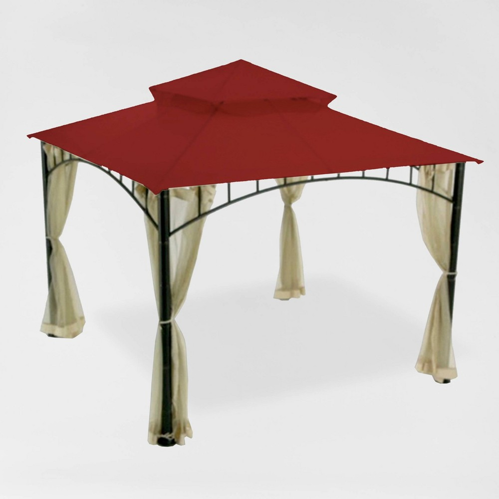 Image of Madaga Replacement Canopy Riplock Cinnabar (Red) - Garden Winds