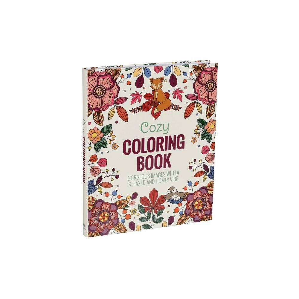 Cozy Coloring Book Paperback