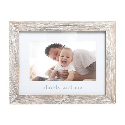 "Pearhead Daddy & Me Picture 4"" x 6"" Frame"