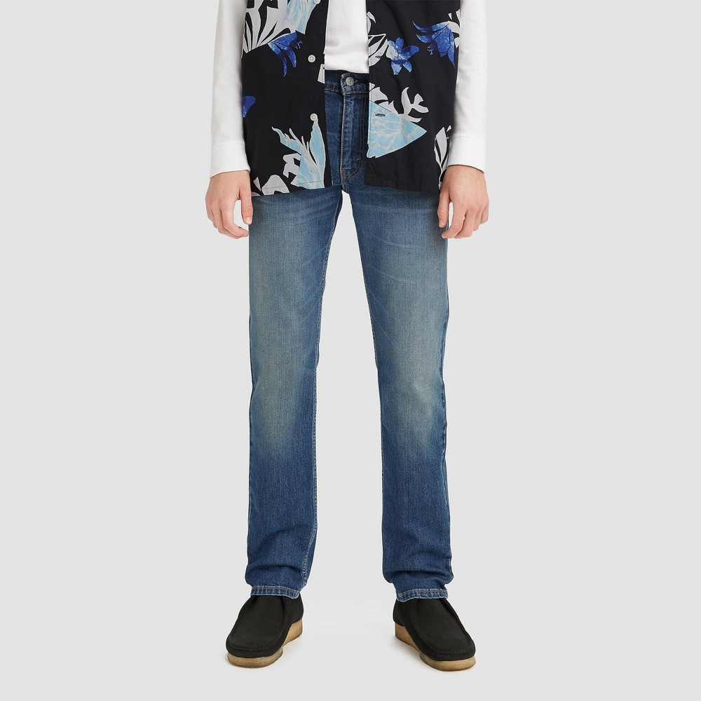 Levi 39 S 174 Men 39 S 511 8482 Slim Fit Skinny Jeans Blue 29x32