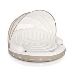 "Intex Inflatable Canopy Island Float Lounge, 78.5"" x 59"""