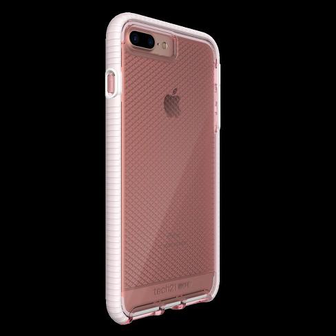 Tech21 Iphone 8 Plus 7 Plus Case Evo Check Rose White Target