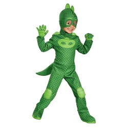 PJ Masks Boys' Gekko Deluxe Toddler Costume