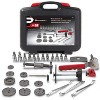 Powerbuilt 648622 Universal Master Disc Brake Tool Repair Kit with Carrying Case for Domestic and Import Vehicles - image 3 of 4